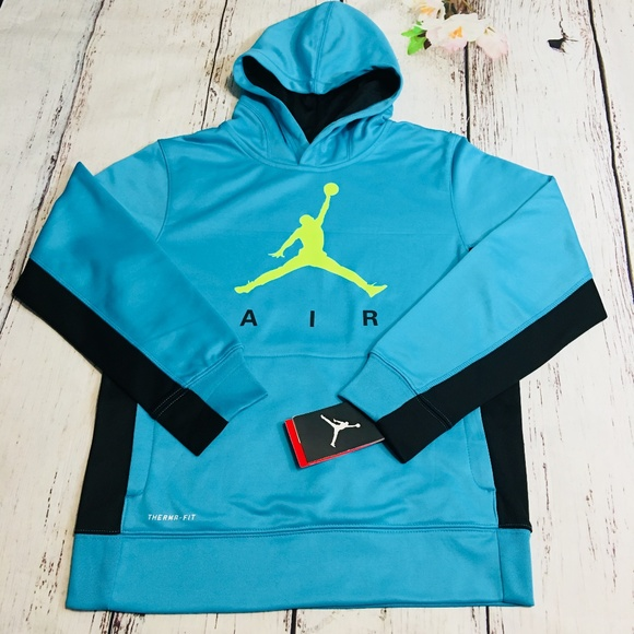976a7fb0bfd Jordan Shirts & Tops | Nike Air Jumpman Thermafit Hoodie | Poshmark